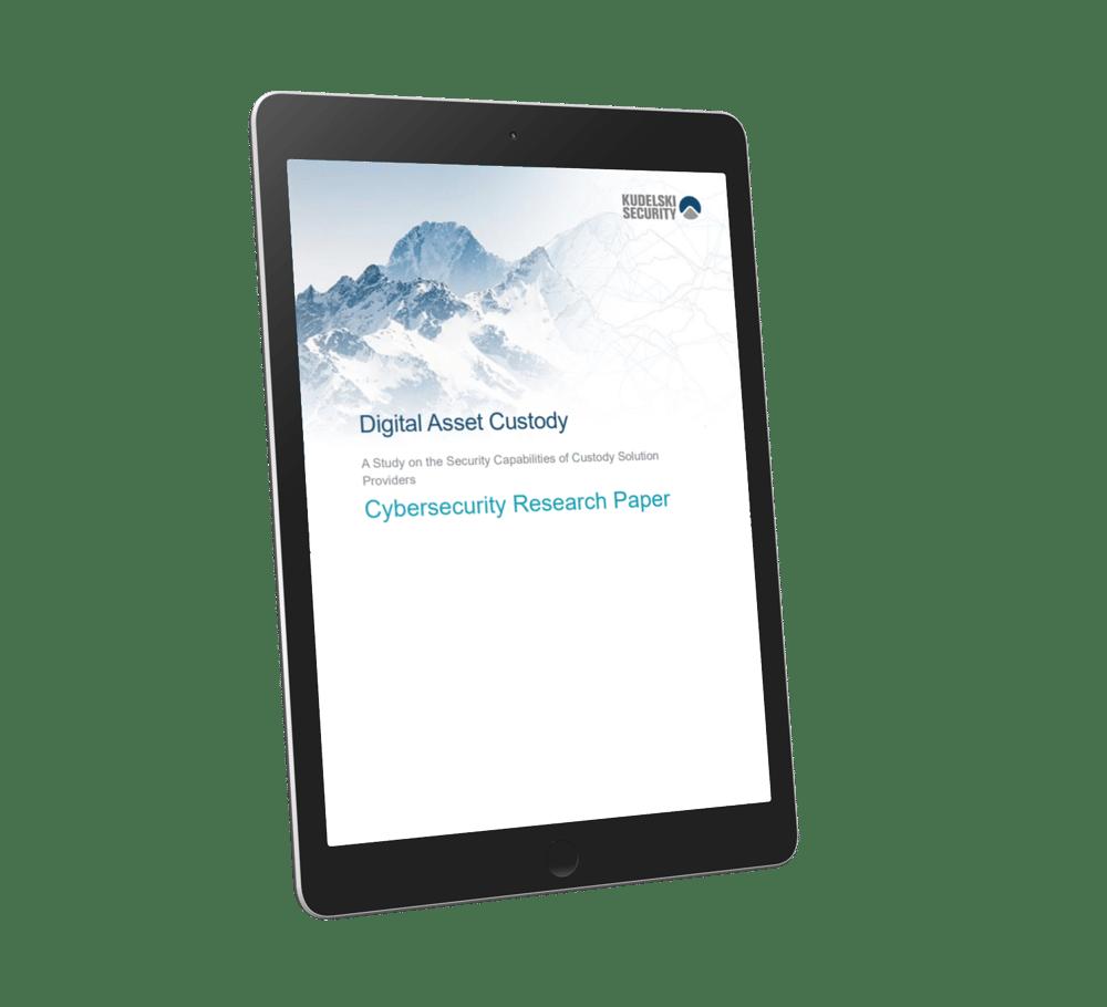 Digital Asset Custody Research Paper